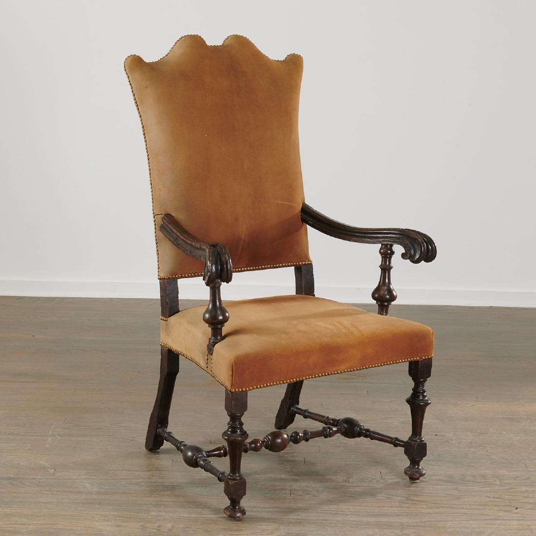 Dutch Baroque armchair