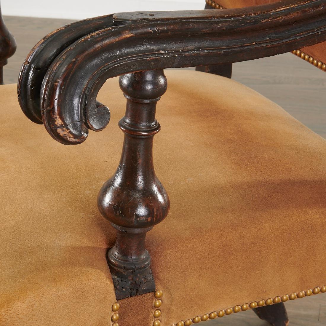 Dutch Baroque armchair - 2