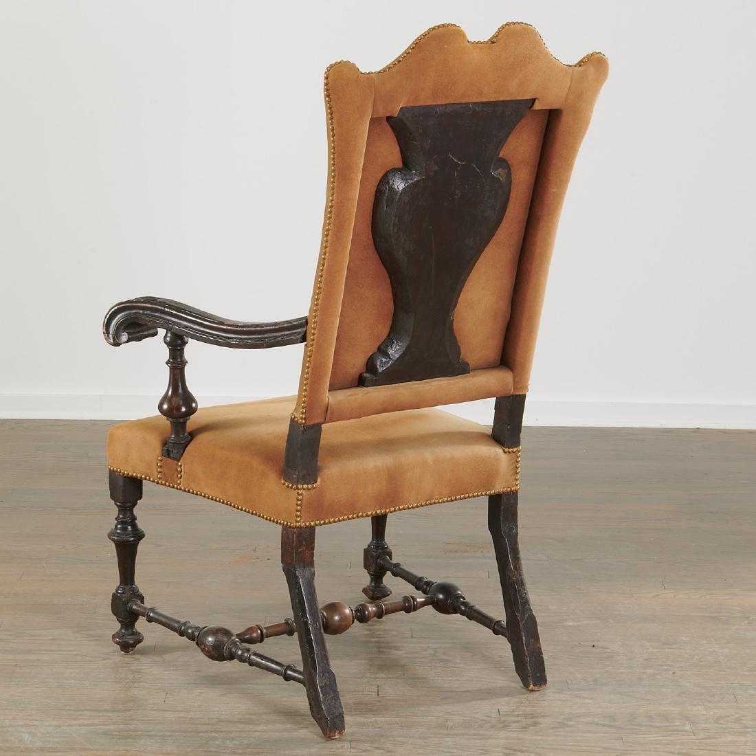 Dutch Baroque armchair - 3