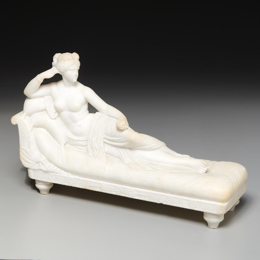 After Antonio Canova, sculpture