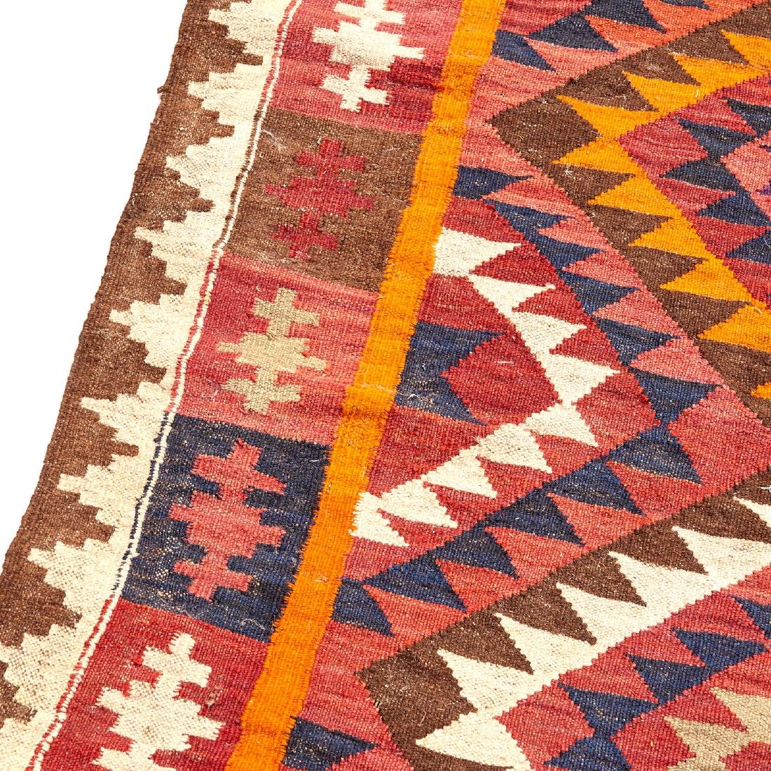 Large Afghani kilim carpet - 3