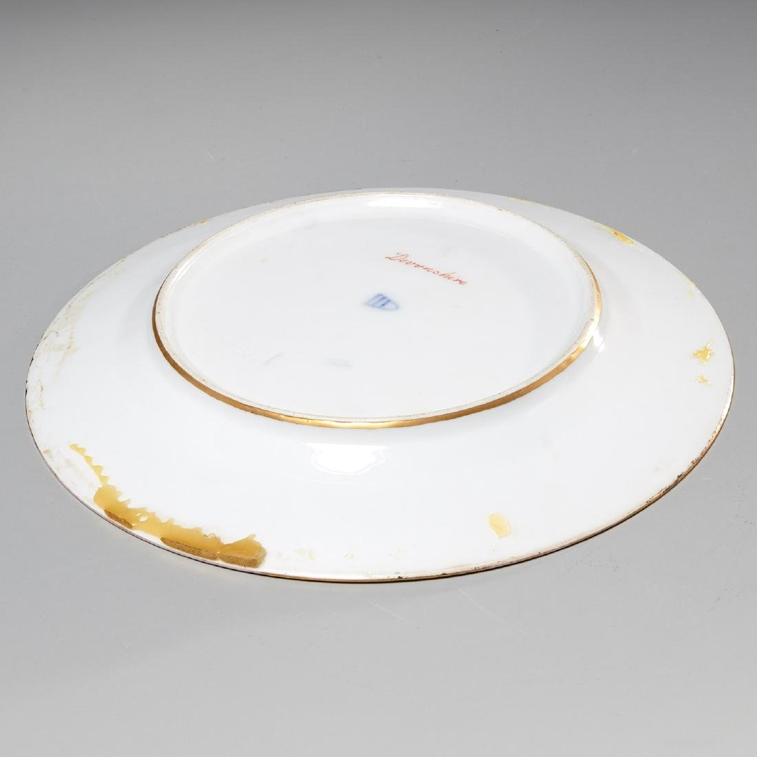 Royal Vienna style jeweled cabinet plate - 7