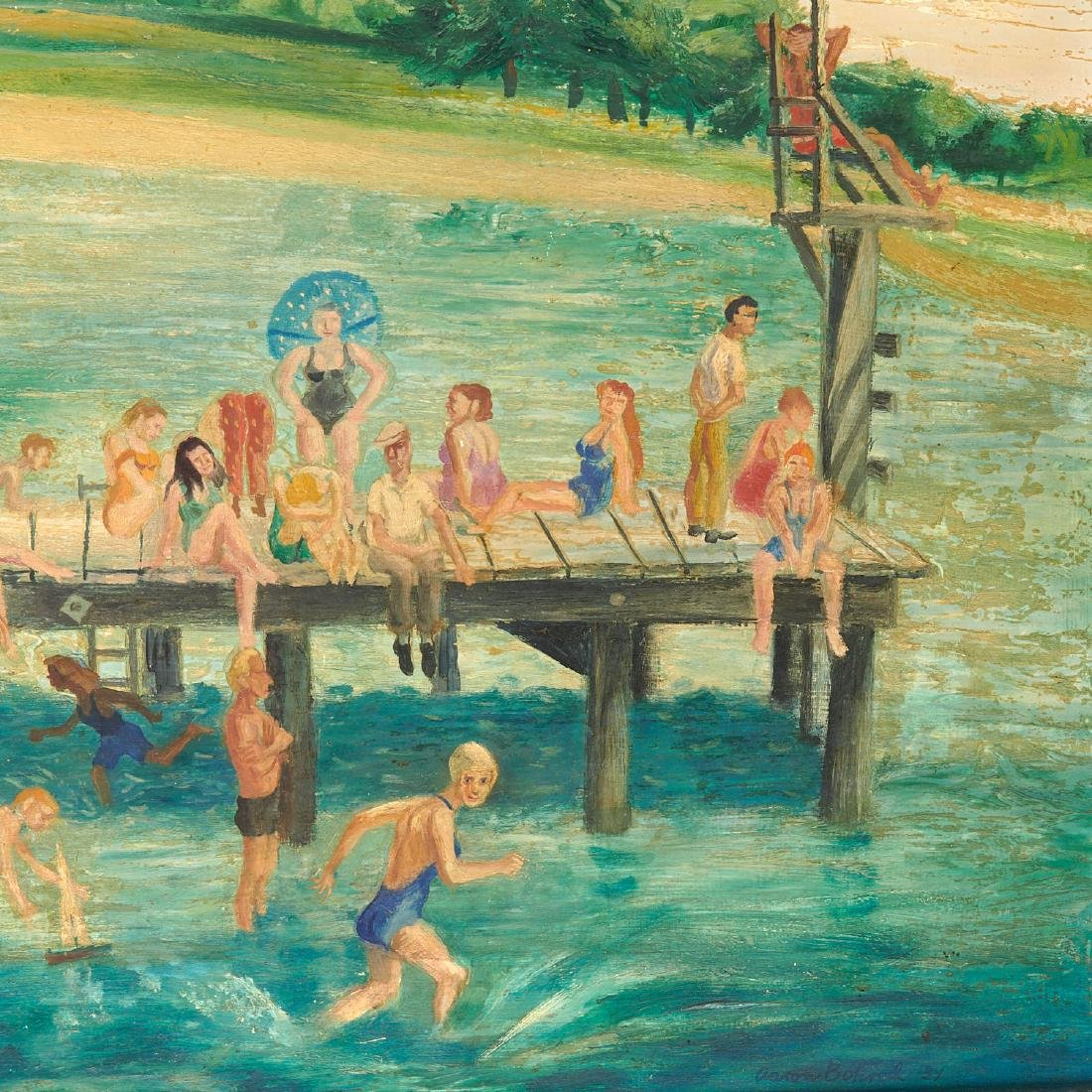 Aaron Bohrod, painting - 4