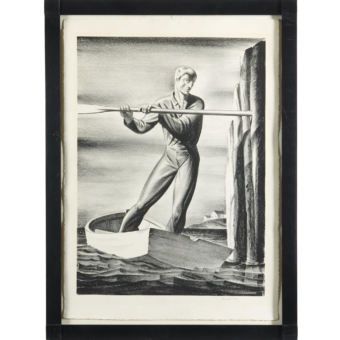 Rockwell Kent, lithograph