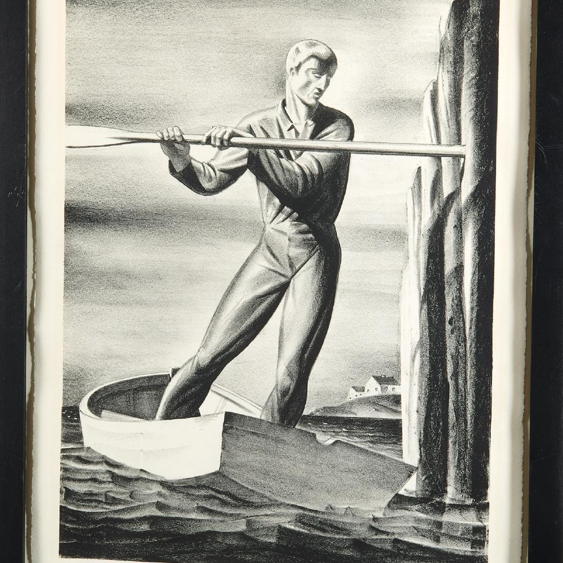Rockwell Kent, lithograph - 2