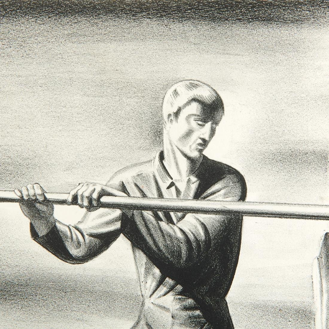Rockwell Kent, lithograph - 3