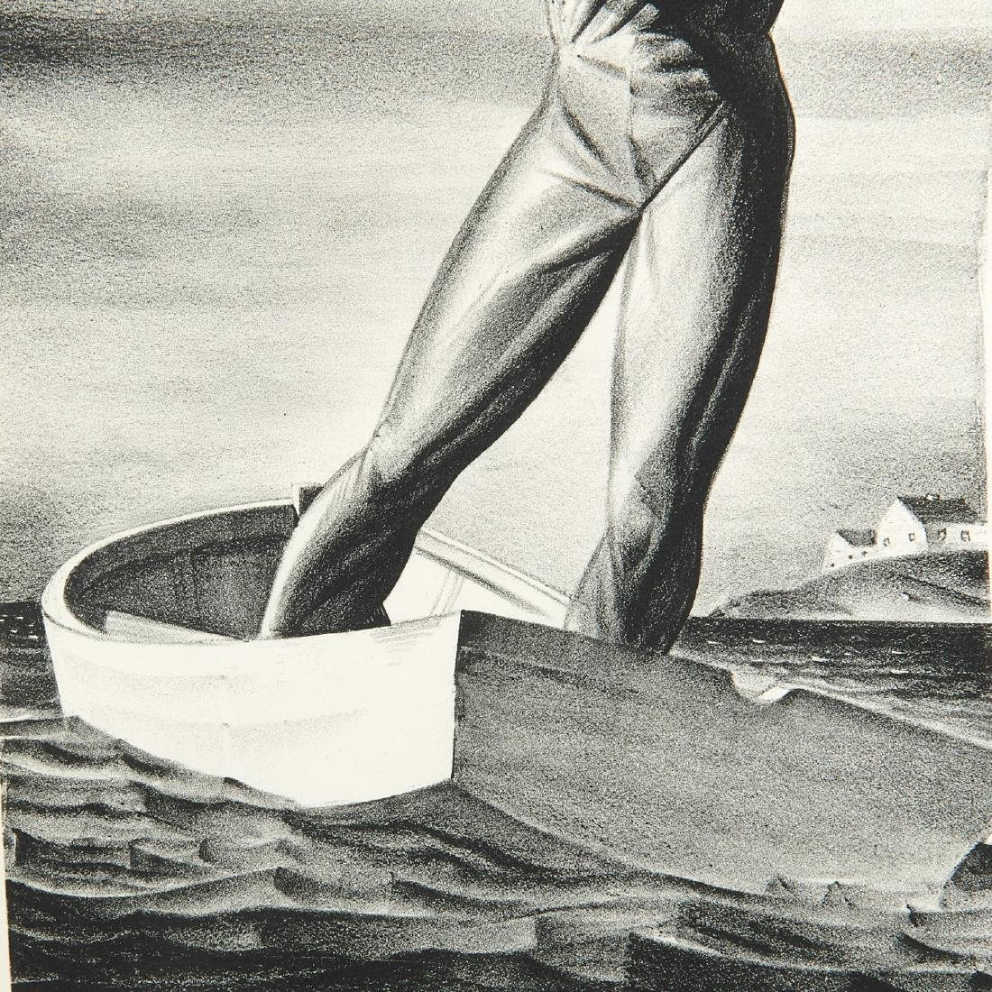 Rockwell Kent, lithograph - 4