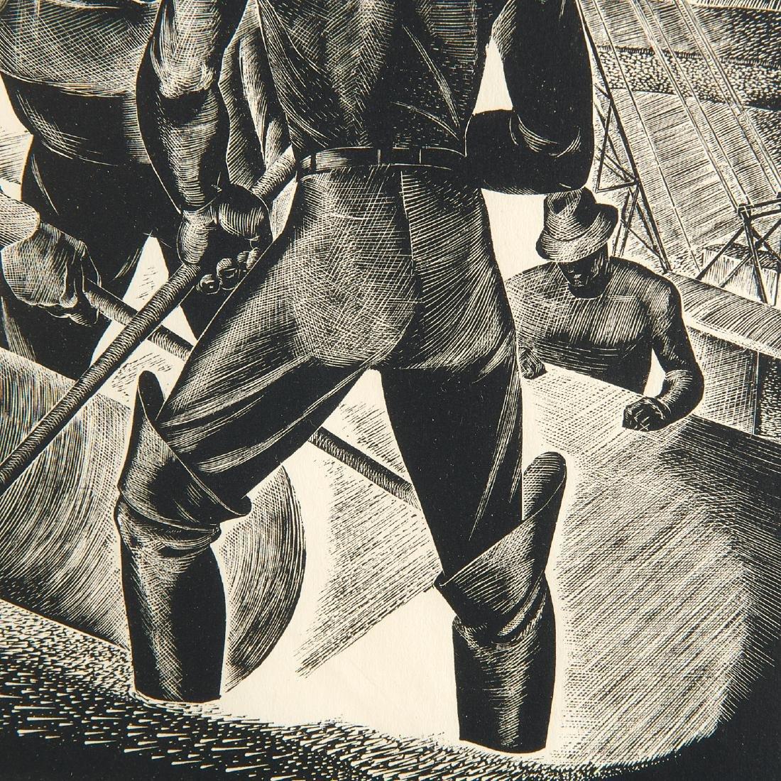 Leon Gilmour, engraving - 4