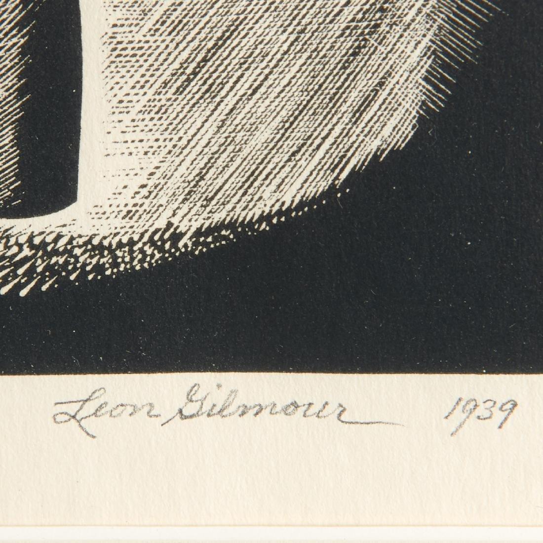 Leon Gilmour, engraving - 5