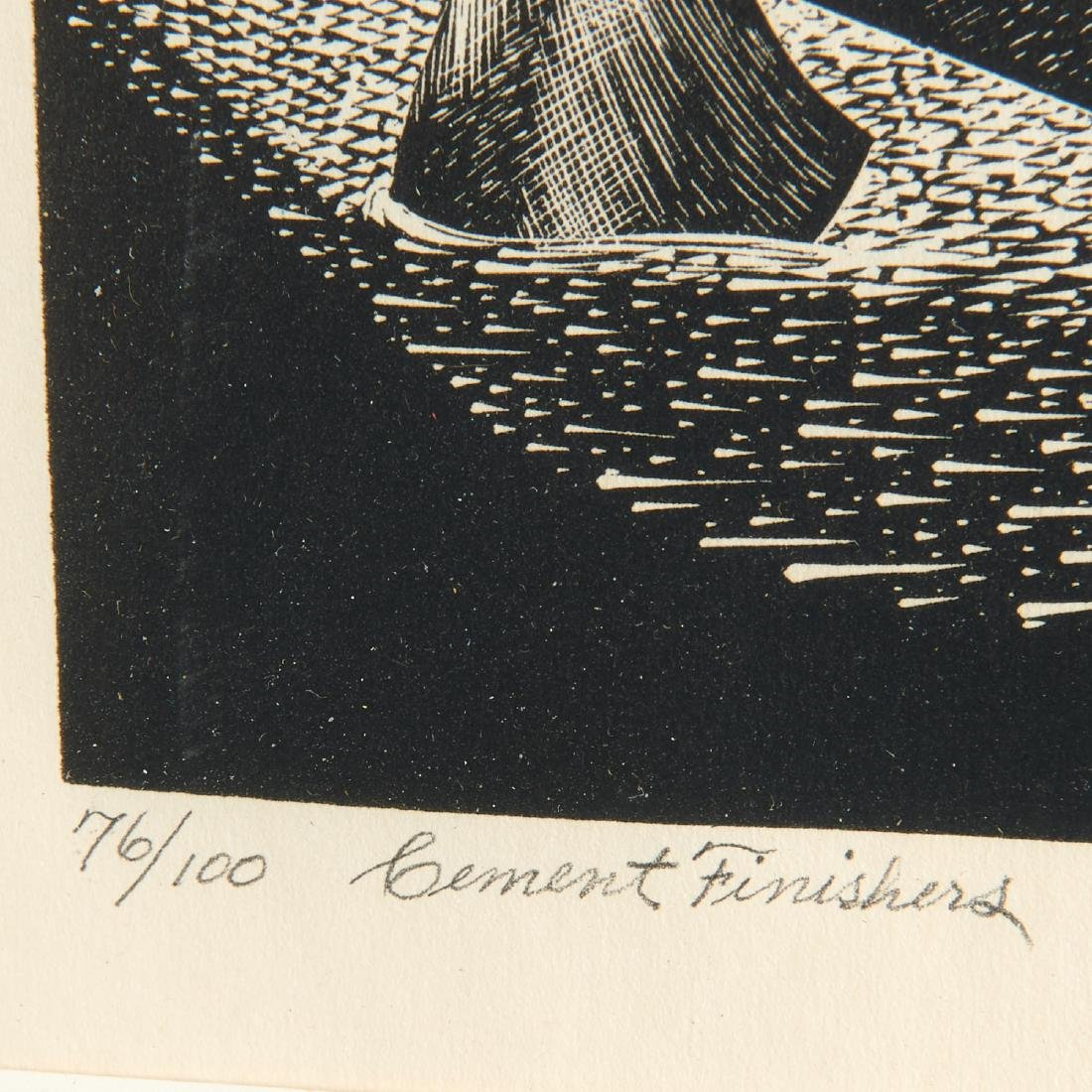 Leon Gilmour, engraving - 6