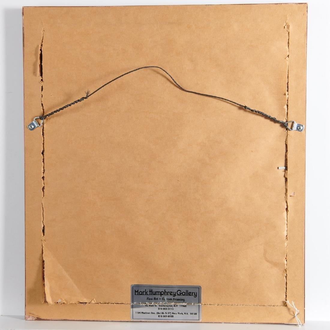 Leon Gilmour, engraving - 7