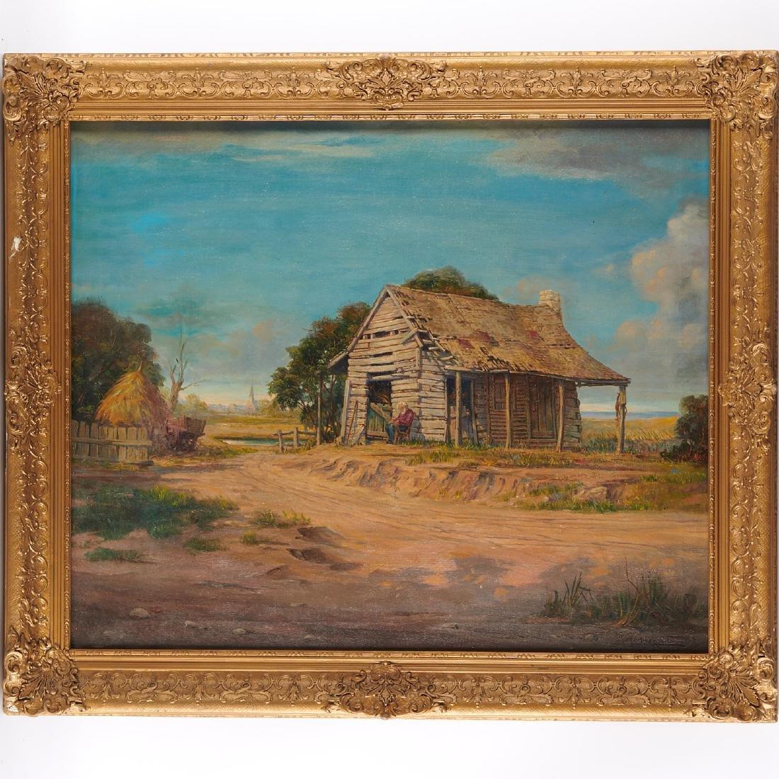 Rudolph Guzzardi, Texas painting