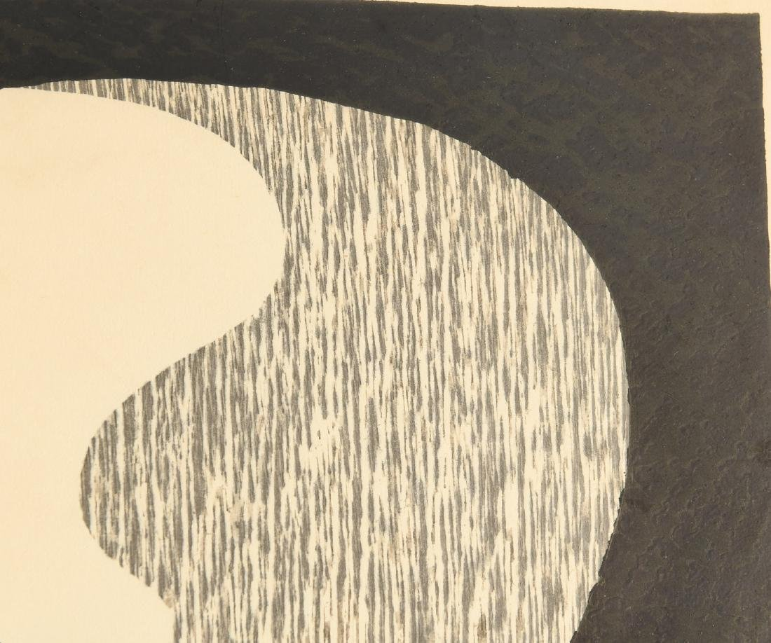 Kiyoshi Saito, Dachshund woodblock print - 3