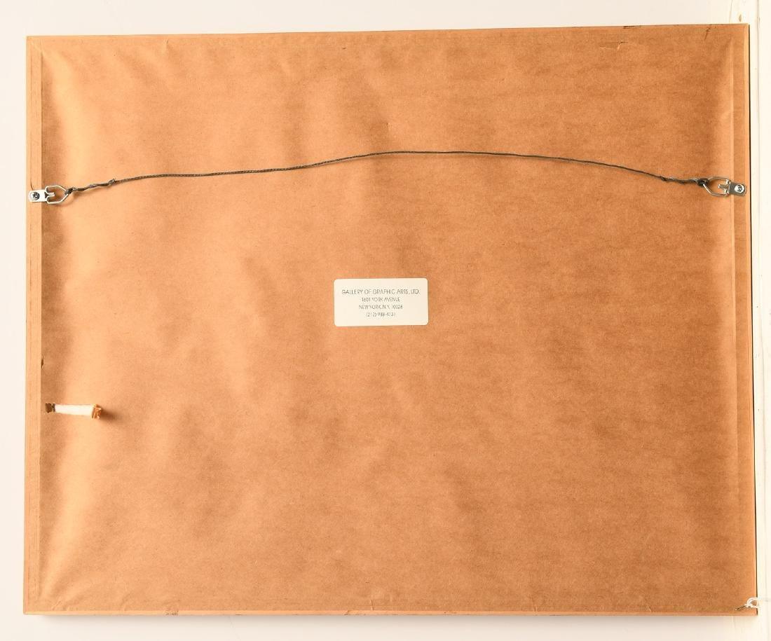 Kiyoshi Saito, Dachshund woodblock print - 6
