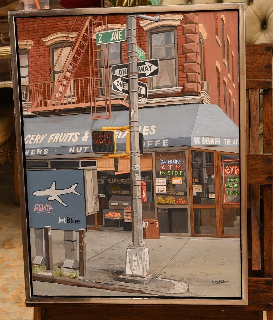 David Kassan, painting