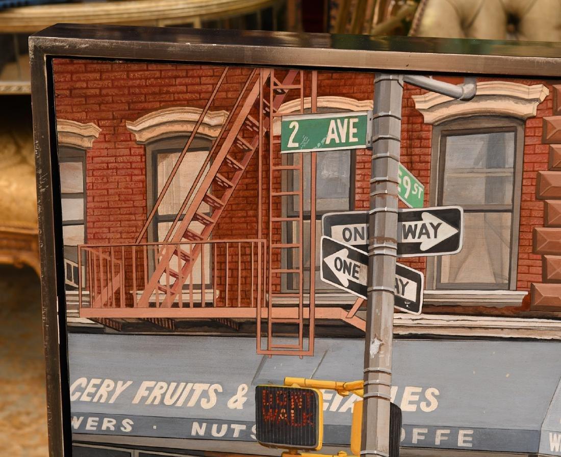 David Kassan, painting - 2