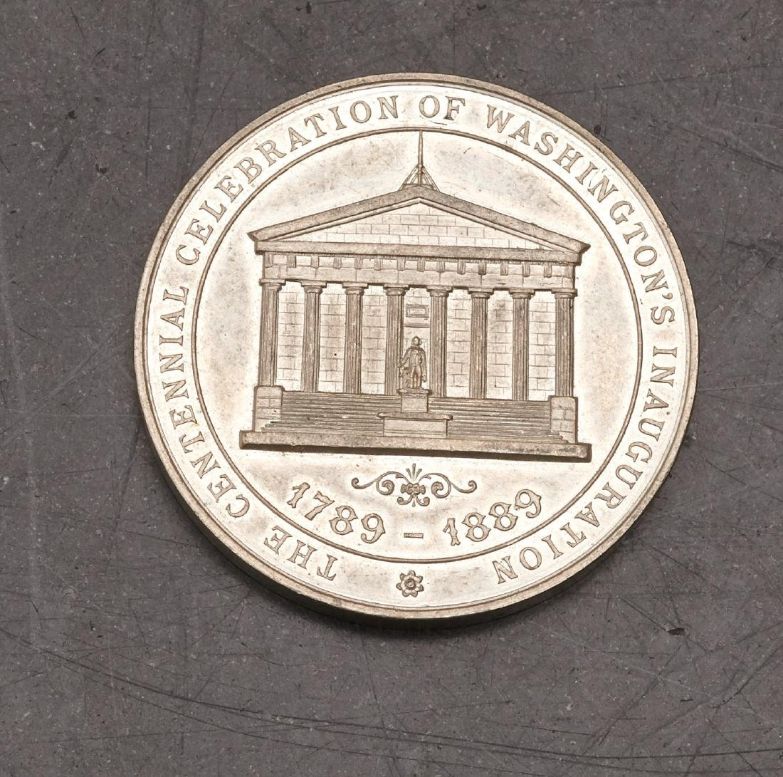 Washington's inauguration, centennial medal