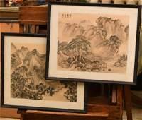 Chinese School 2 paintings