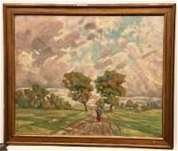 Carl Edvard Diriks, painting