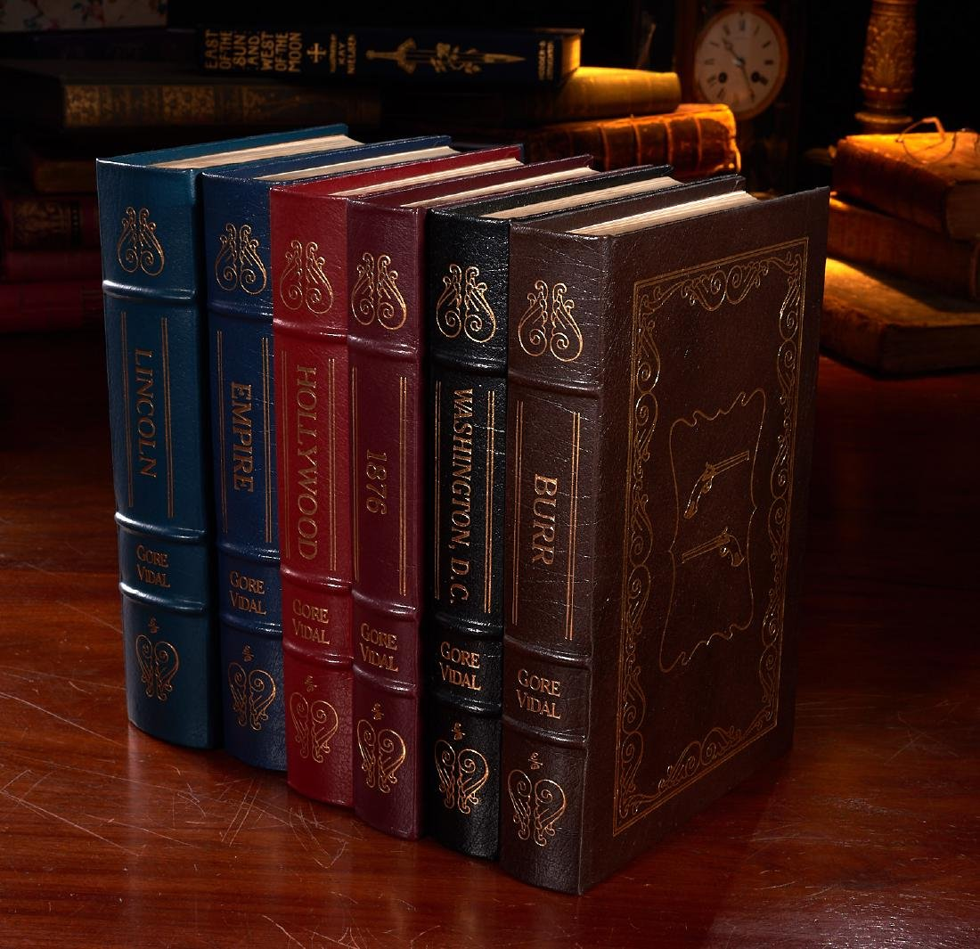 BOOKS: (6) Easton Press Gore Vidal Collectors Eds
