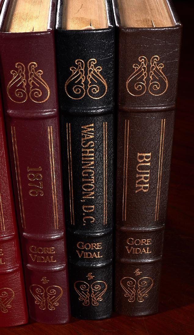 BOOKS: (6) Easton Press Gore Vidal Collectors Eds - 3