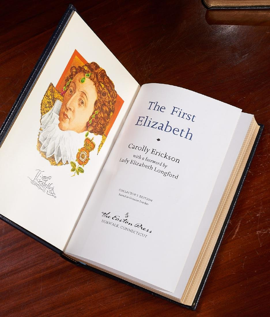 BOOKS: (7) Easton Press Library of Great Lives (b) - 8