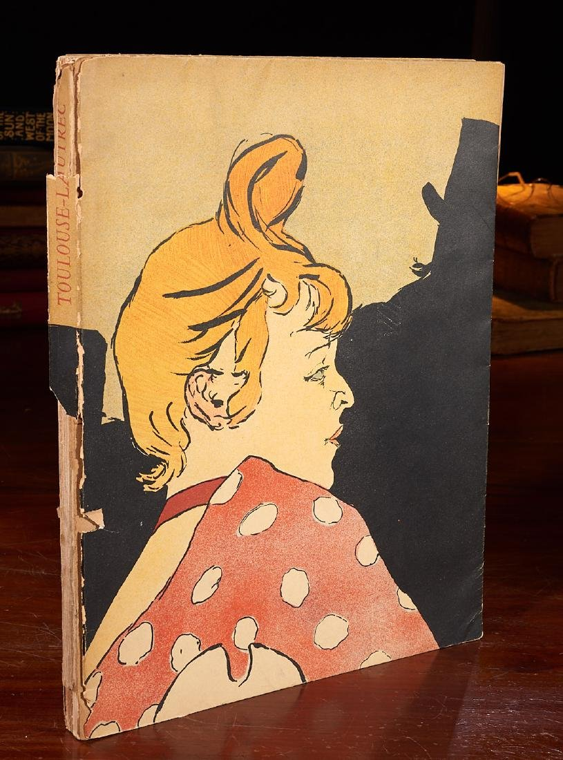BOOKS: Posters of Toulouse-Lautrec 1951 Julien