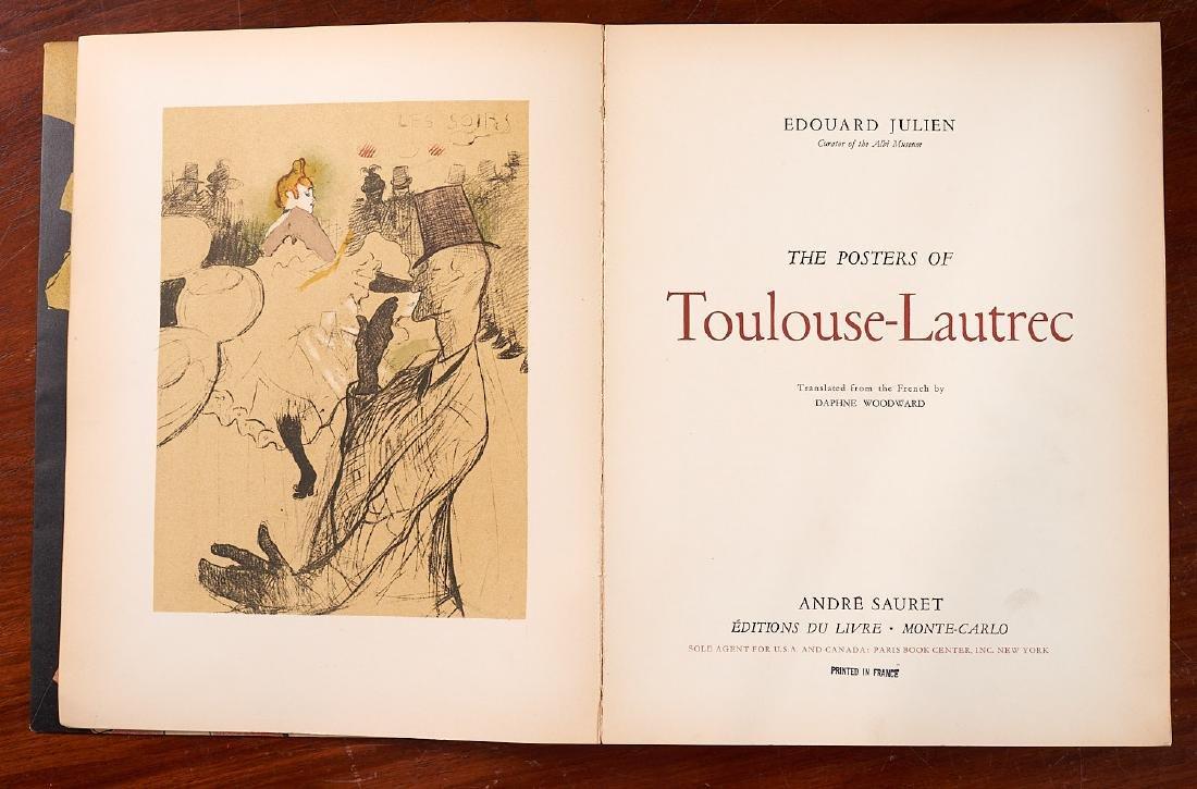 BOOKS: Posters of Toulouse-Lautrec 1951 Julien - 2