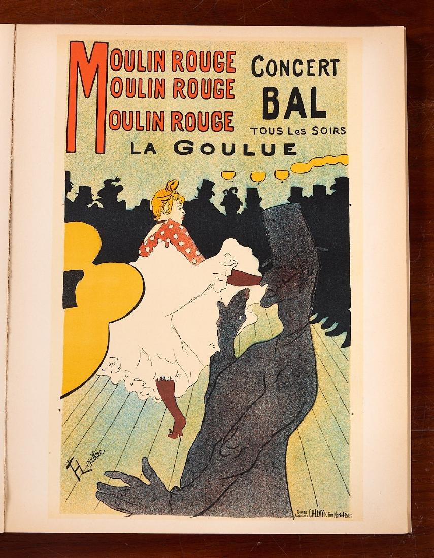 BOOKS: Posters of Toulouse-Lautrec 1951 Julien - 3
