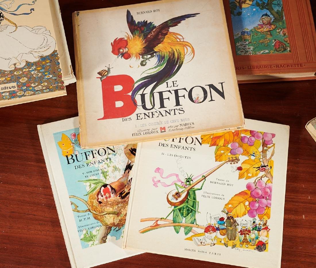 BOOKS: (8) Felix Lorioux + (2) sets notecards - 3