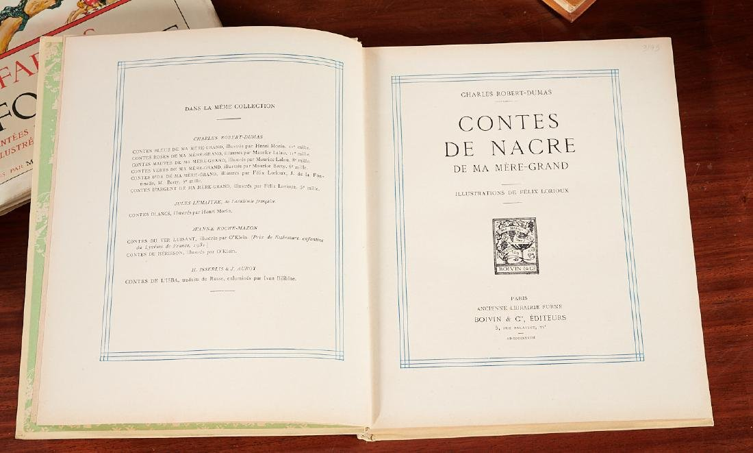 BOOKS: (8) Felix Lorioux + (2) sets notecards - 4