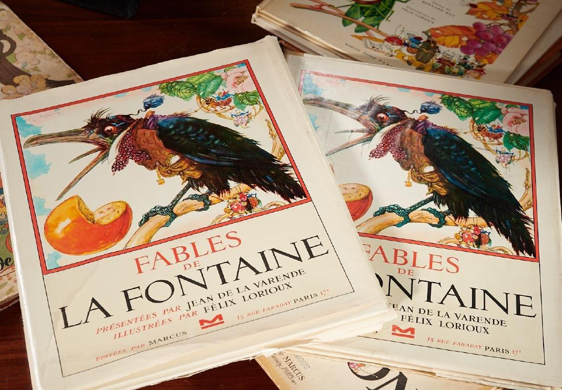 BOOKS: (8) Felix Lorioux + (2) sets notecards - 8