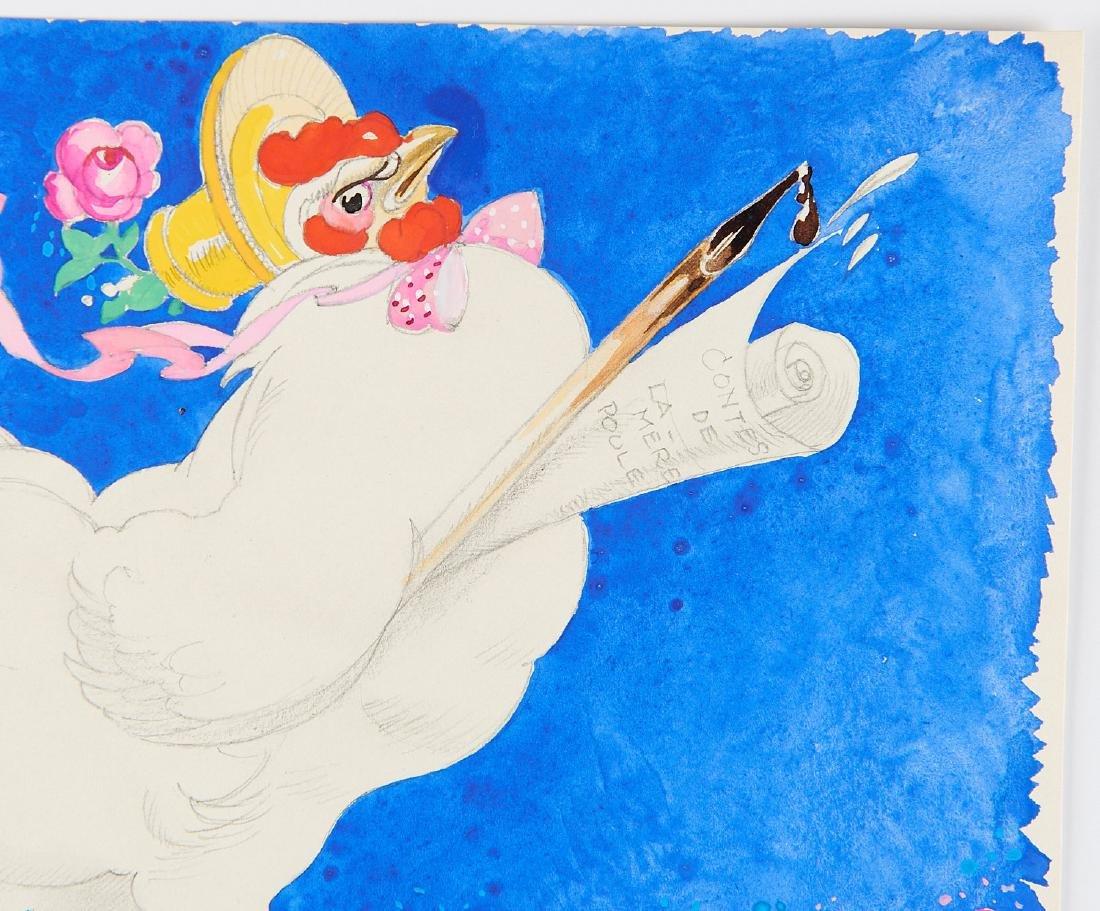 (2) Felix Lorioux orig. watercolor illustrations - 3