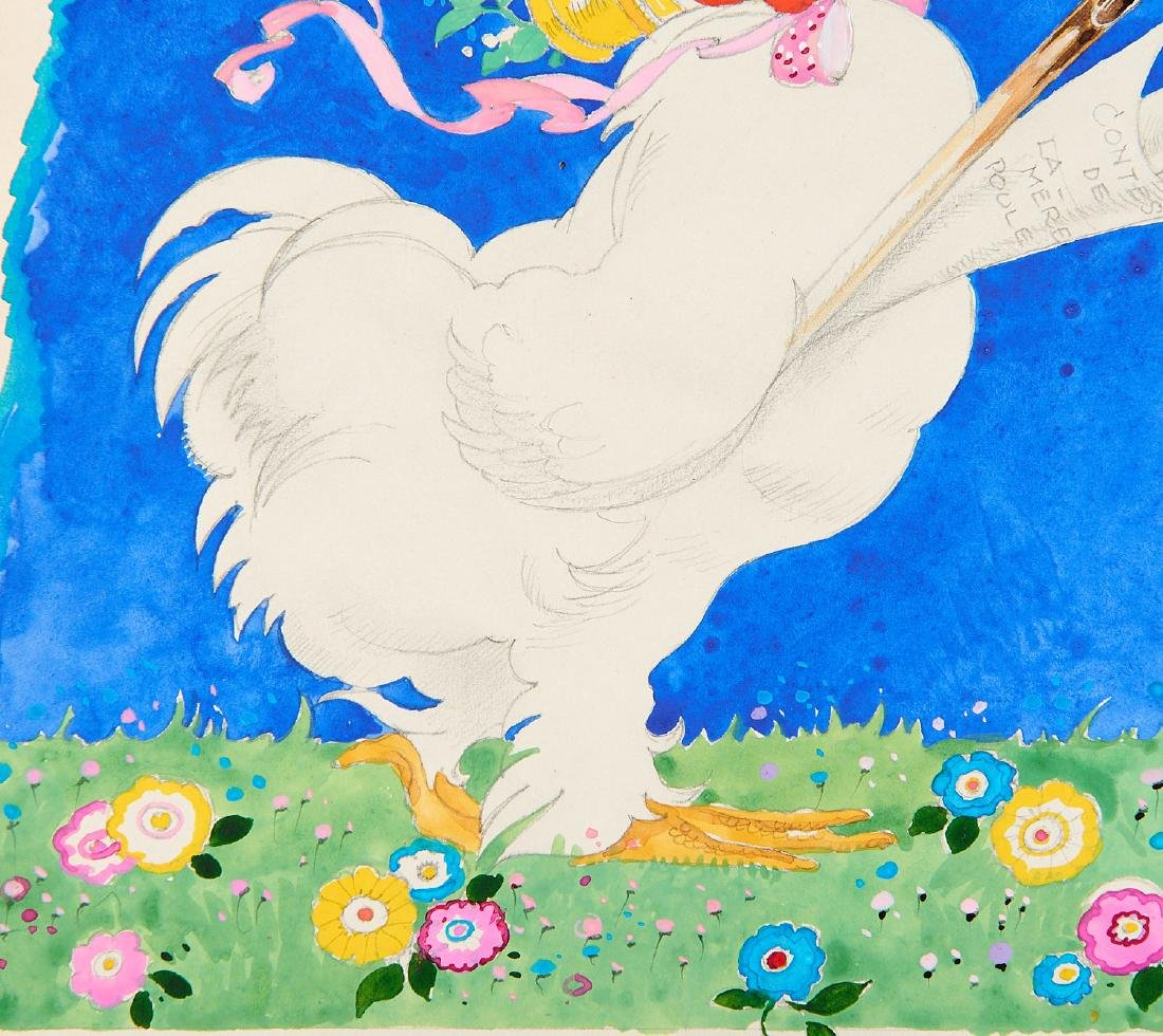 (2) Felix Lorioux orig. watercolor illustrations - 5
