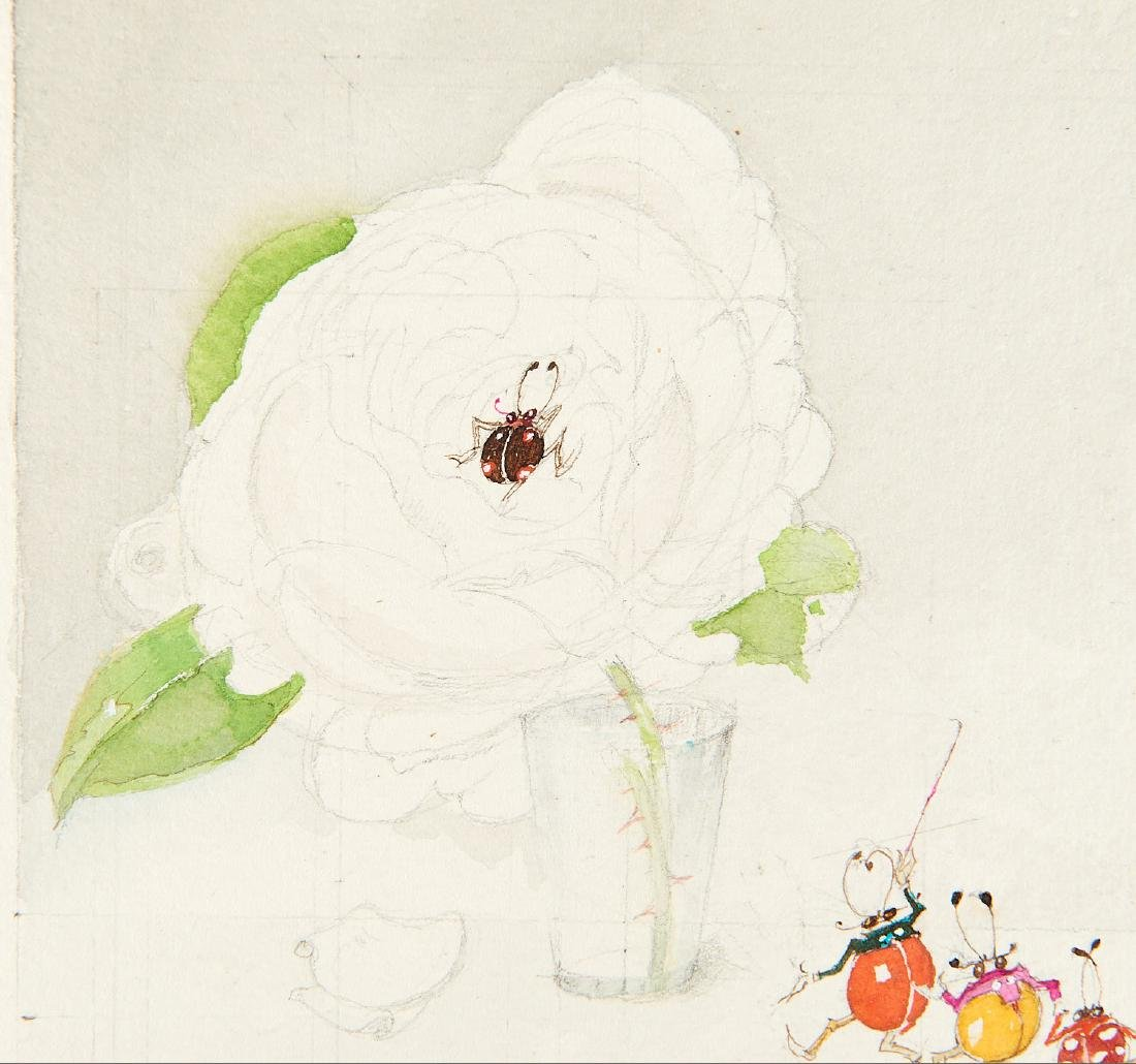 (2) Felix Lorioux orig. watercolor illustrations - 8