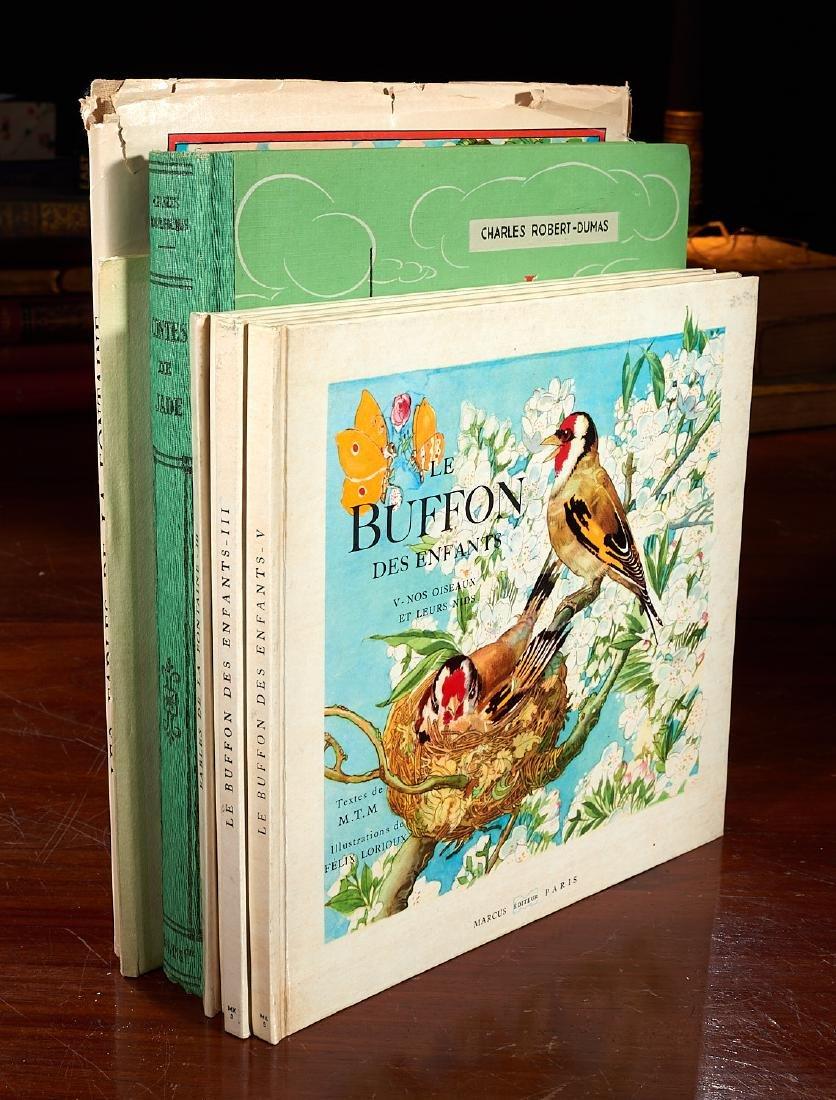 BOOKS: (7) Vols Felix Lorioux Illustrated 1946-56