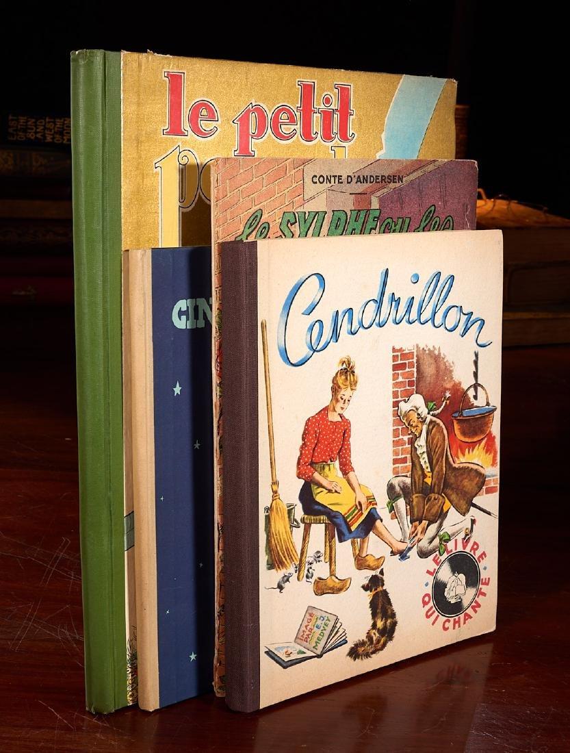 BOOKS: (5) Incl Petit Poucet 1928 Felix Lorioux