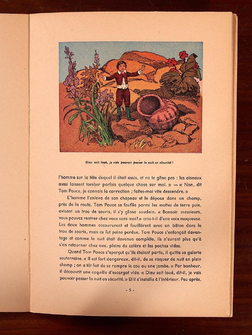 BOOKS: (5) Incl Petit Poucet 1928 Felix Lorioux - 5