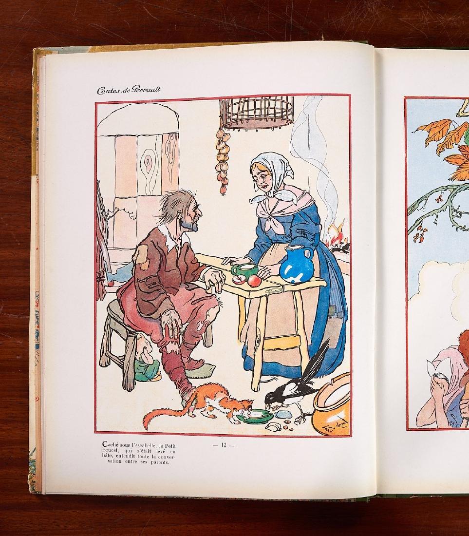 BOOKS: (5) Incl Petit Poucet 1928 Felix Lorioux - 8