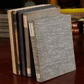 BOOKS 5 Vols German book printing 192536