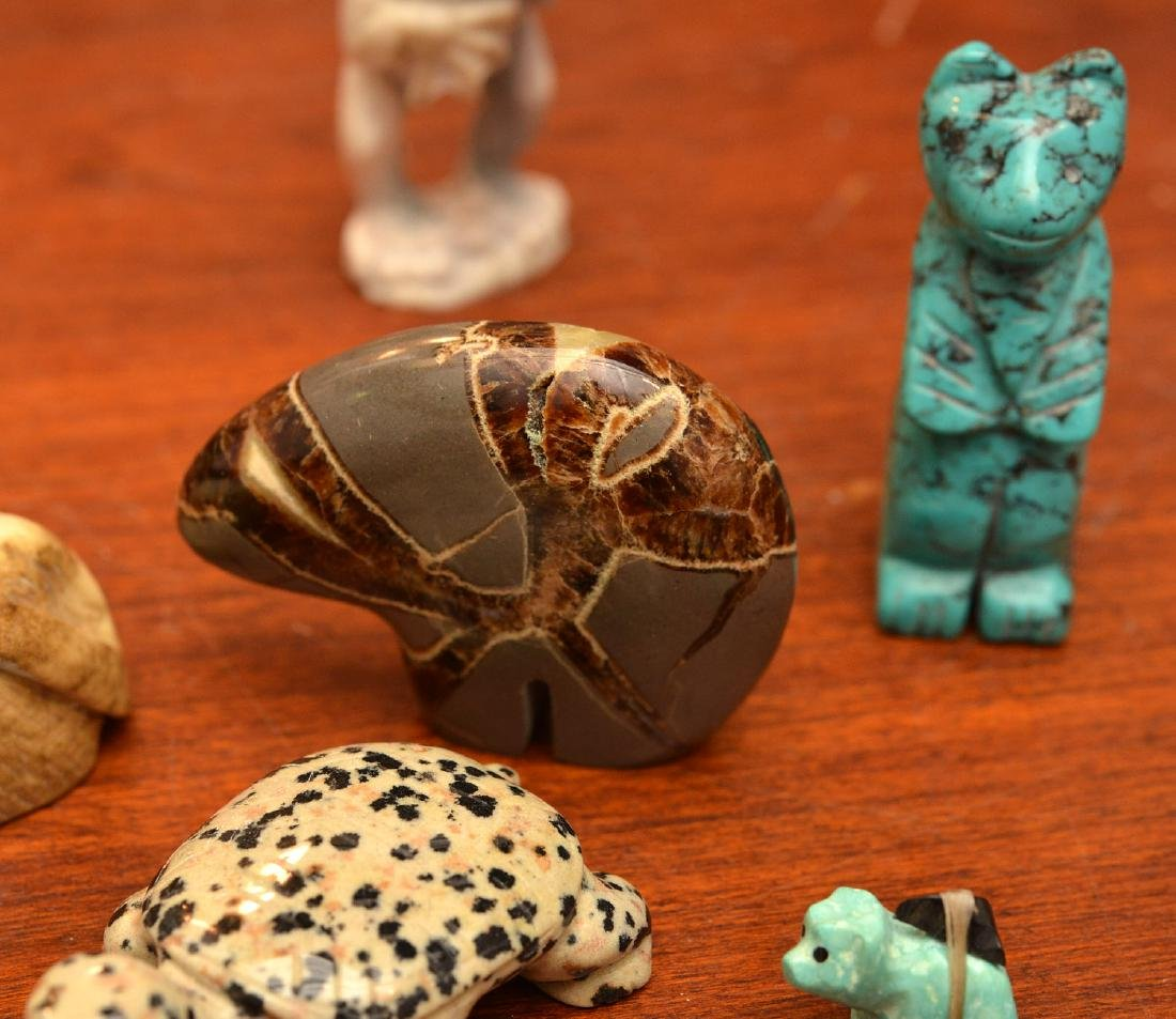 Zuni fetishes and other miniature animals - 3
