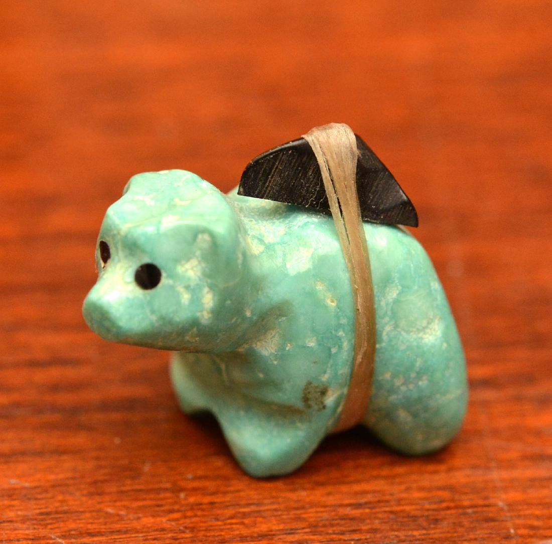 Zuni fetishes and other miniature animals - 7