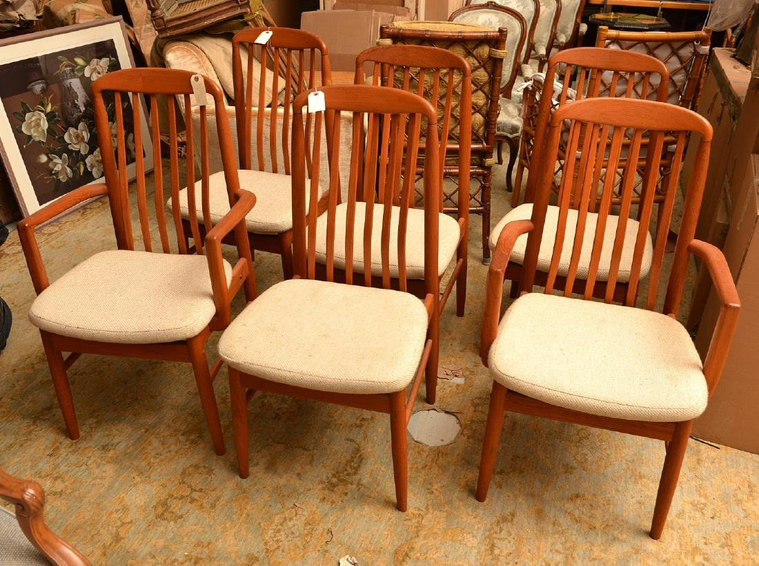 Set (6) Benny Linden dining chairs