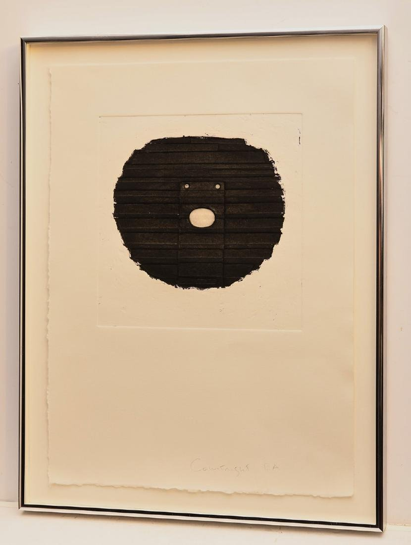 Robert Courtright, etching