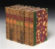 BOOKS: (7) Vols Works of Lord Byron 1854
