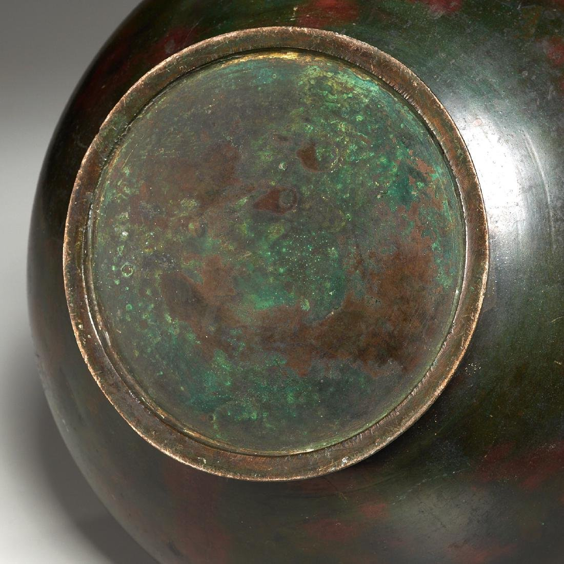 Chinese archaic bronze urn - 8