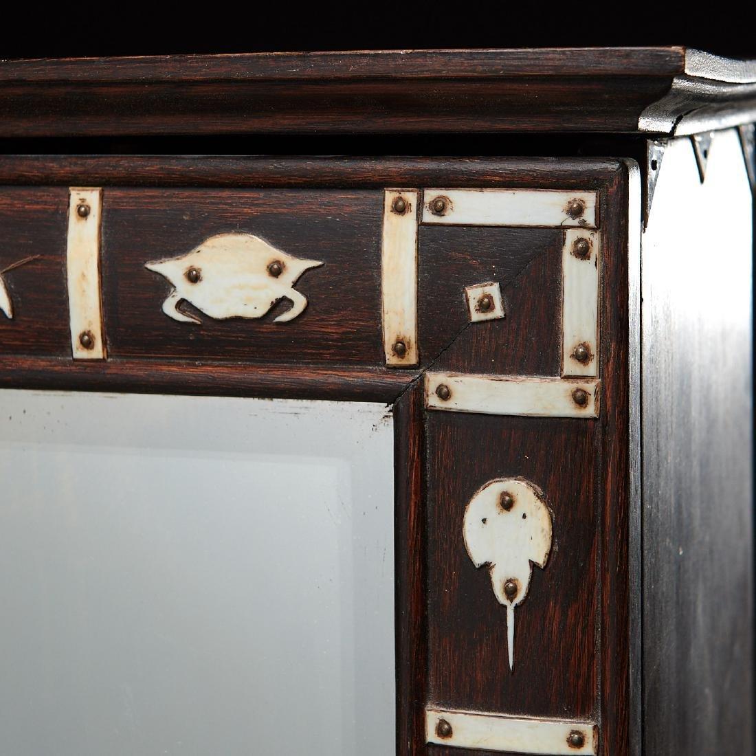 Nantucket style Folk Art apothecary cabinet - 2