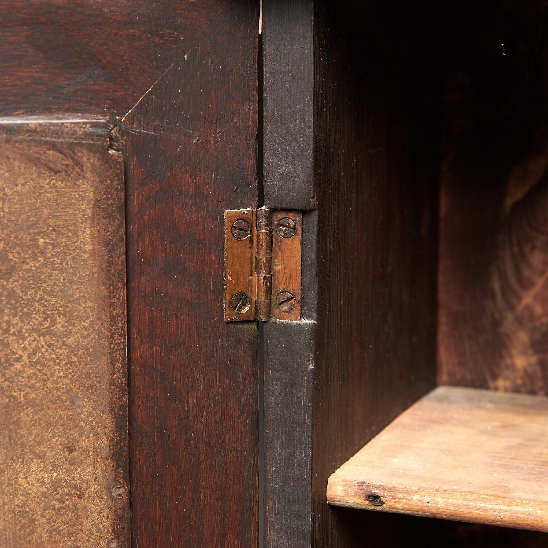 Nantucket style Folk Art apothecary cabinet - 7