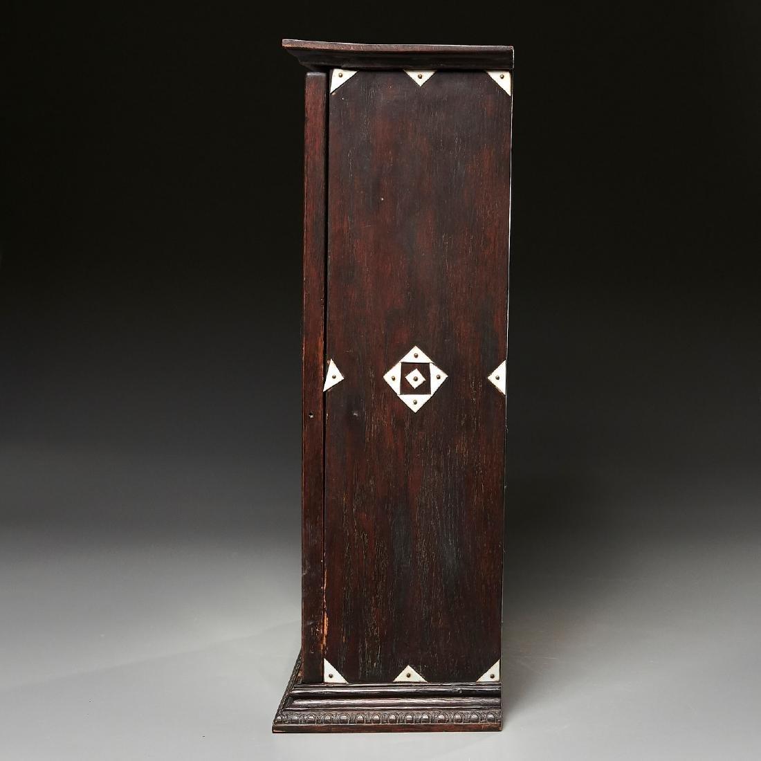 Nantucket style Folk Art apothecary cabinet - 8