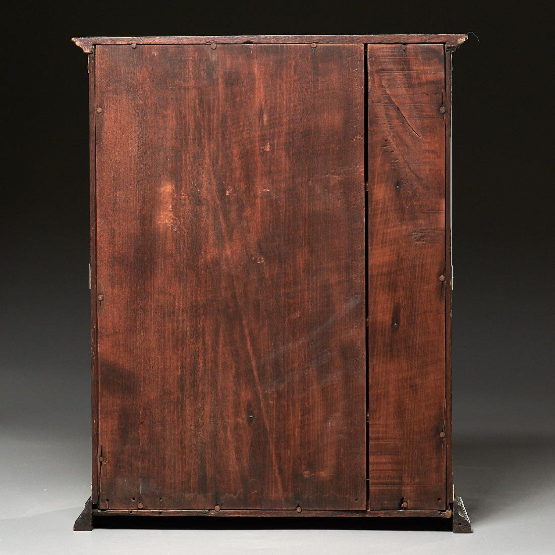 Nantucket style Folk Art apothecary cabinet - 9